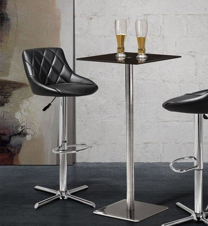 Dimensional Bar Table Black
