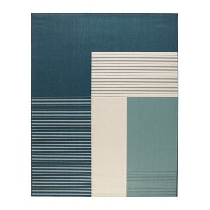 Roald Rug Green Blue