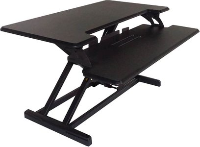 Victor Adjustable Standing Desk Black