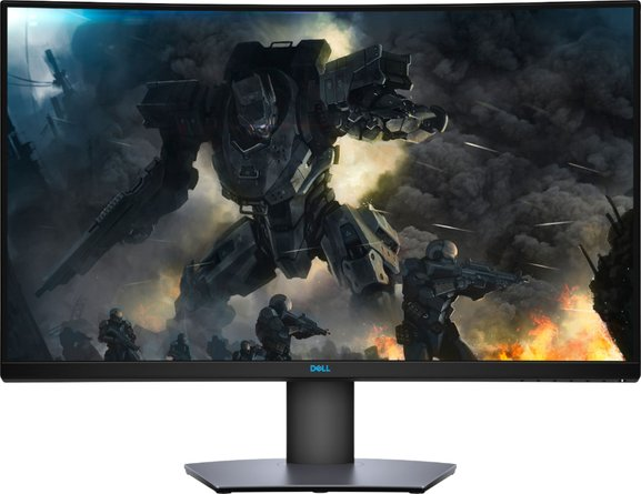 "Dell 32"" LED Curved QHD FreeSync Monitor with HDR Black"