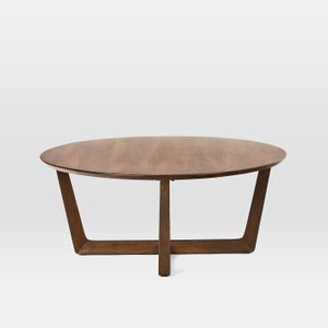 West Elm Stowe Coffee Table Dark Walnut