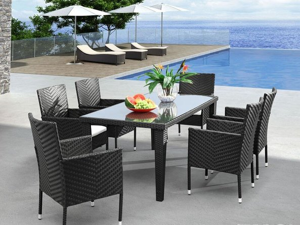 Cavendish Rectangular Table Espresso