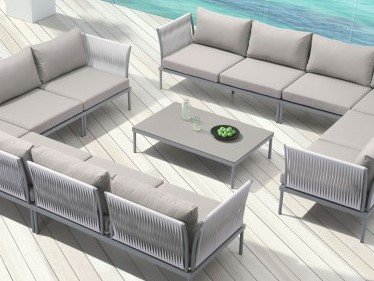 Sand Beach Coffee Table Gray & Granite