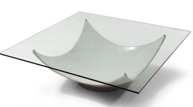 Modrest Sunset Coffee Table White