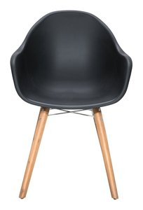 Tidal Dining Chair Black ( Set of 4 Units )