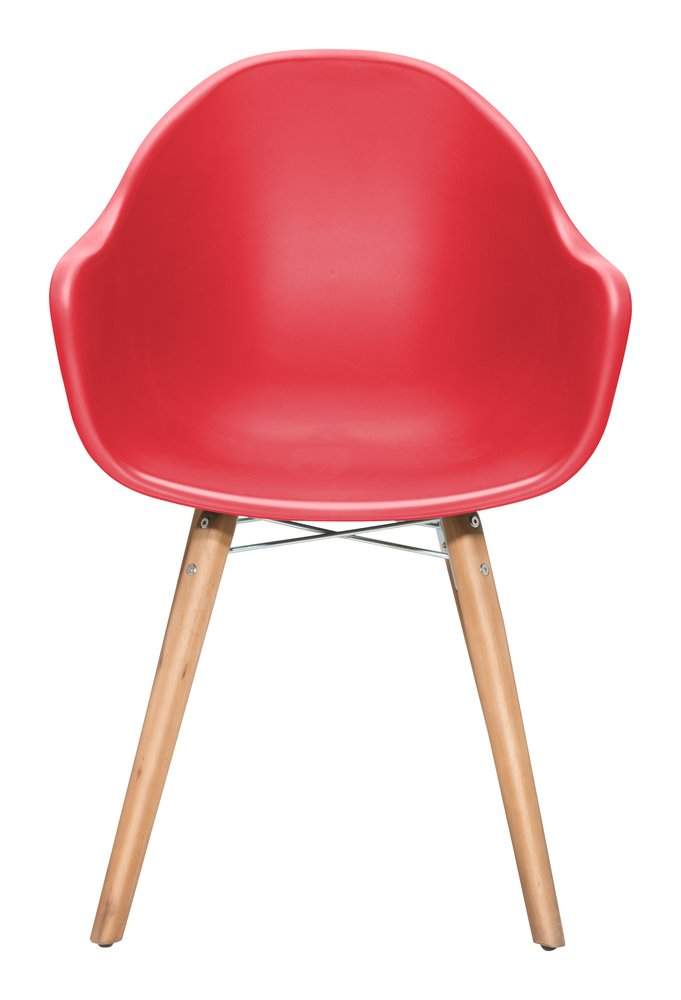 Tidal Dining Chair Red (Set of 4)
