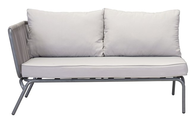 Pier LAF Double Seat Sofa Gray