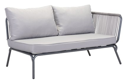 Pier RAF Double Seat Sofa Gray