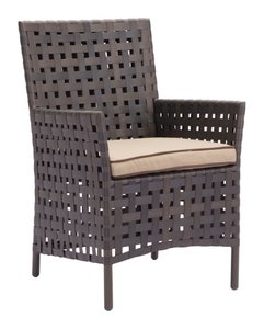 Pinery Dining Chair Brown & Beige (Set of 2 Units)