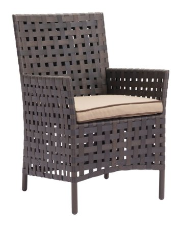 Pinery Dining Chair Brown & Beige (Set of 2)