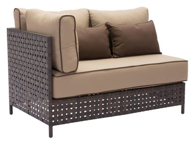 Pinery LHF Corner Sofa Brown & Beige