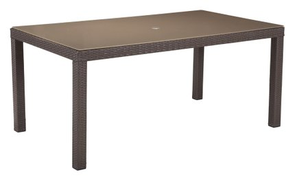 Coronado Dining Table Cocoa And Light Gray
