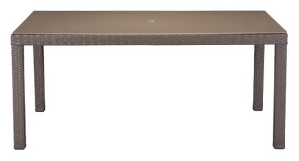 Coronado Dining Table Cocoa & Light Gray