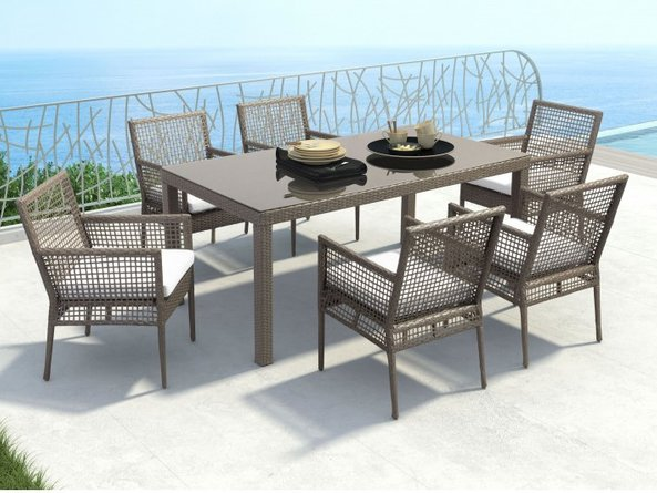 Hazel Outdoor Dining Package - 6 Seater