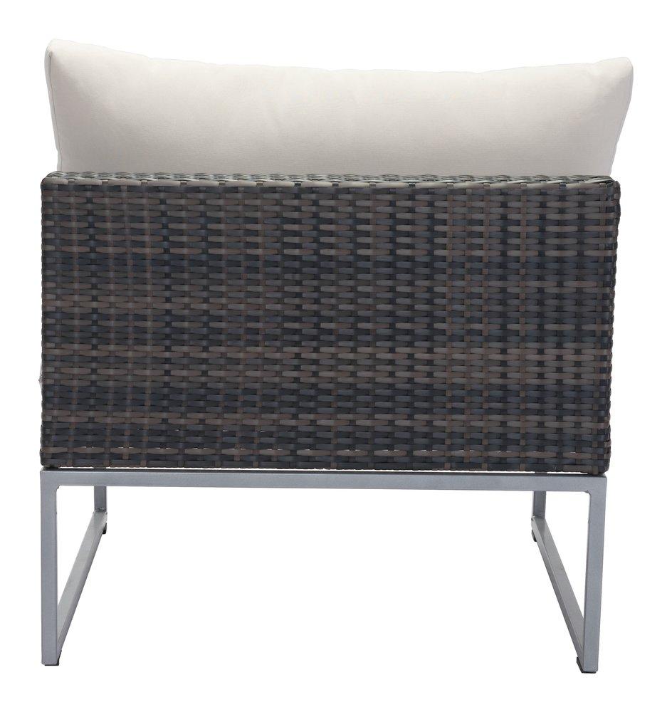 Malibu Middle Chair Brown & Beige