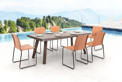 Beckett Dining Chair Tan (Set of 4 Units)