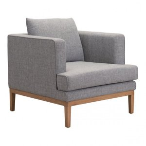 Eden Arm Chair Gray