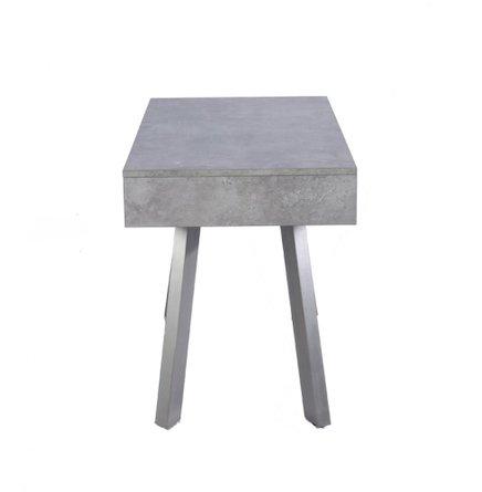 Austin Contemporary Concrete & Walnut Desk
