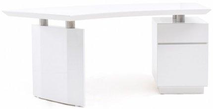 Modrest Stanford Modern Office Desk White