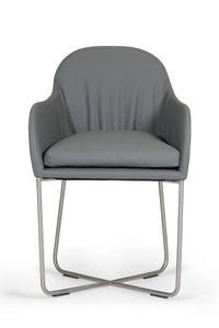 Modrest Sweeny Dining Chair Gray
