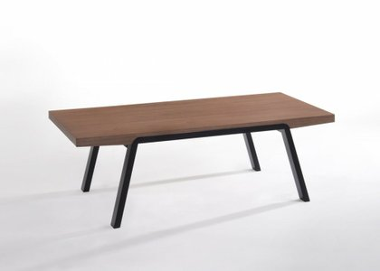 Rhett Modern Coffee Table Walnut
