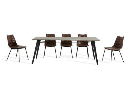 Claw Modern Dining Table Dark Gray