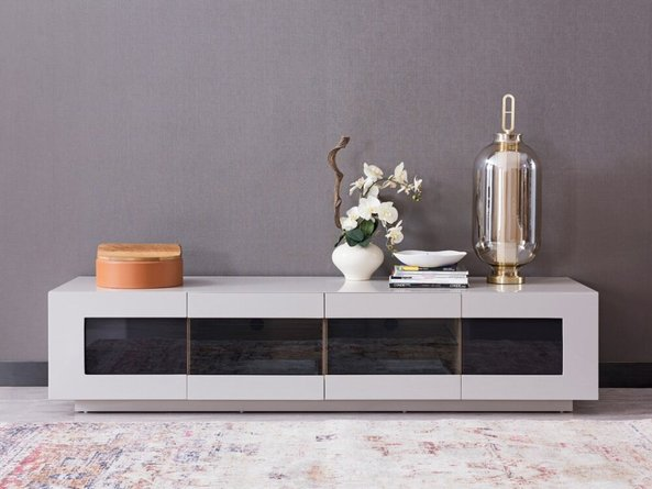 Frost Modern Small TV Unit Gray