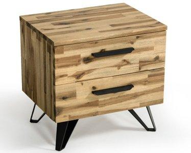 Sala Modern Light Wood Nightstand