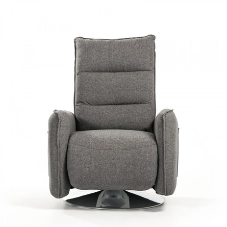 Divani Casa Fairfax Modern Recliner Chair Gray