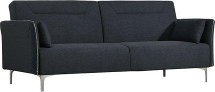 Divani Casa Davenport Mid-Century Modern Sofa Bed Dark Gray