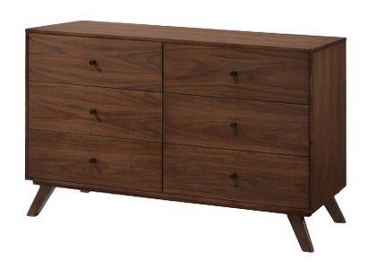 Modrest Addison Mid-Century Modern Dresser Walnut