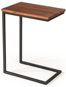 Modrest Turner Modern Side Table Aged Oak