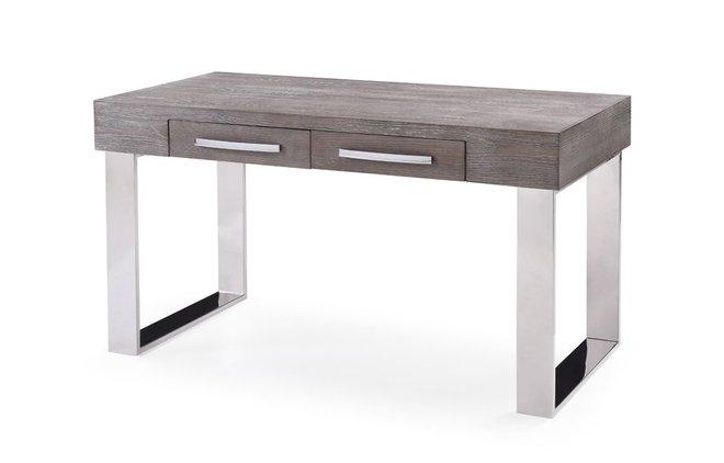 Lola Modern Gray Elm Desk