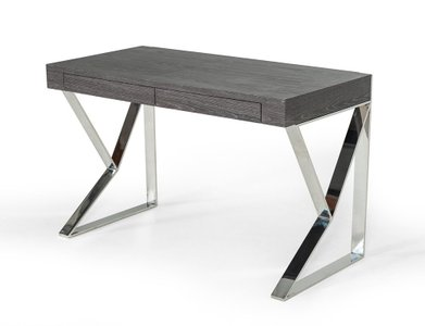 Ferris Modern Grey Elm Desk