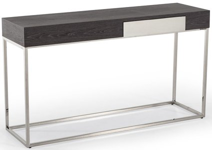 Vernon Modern Console Table Gray
