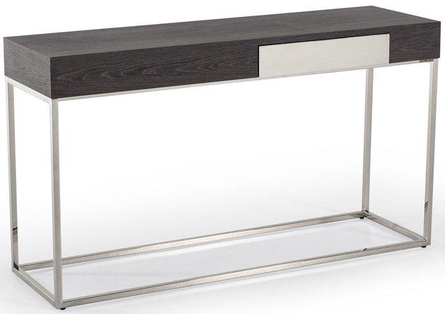 Vernon Modern Console Table Gray