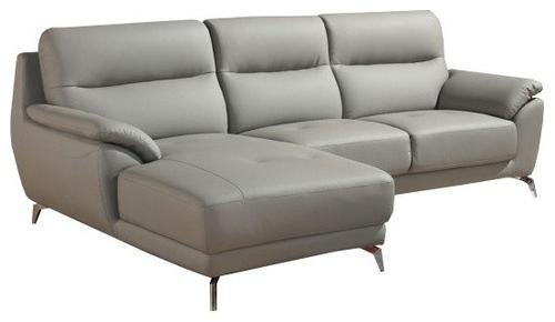 Fortson Modern Sectional Sofa Gray