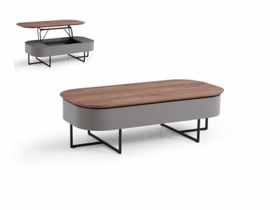 Reid Modern Coffee Table Walnut