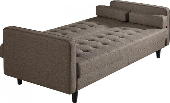 Divani Casa Kestin Modern Sofa Bed & Chair Set Brown