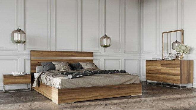 Lorenzo Italian Modern Light Oak Dresser