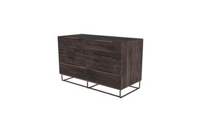 Nova Domus Benzon Italian Dresser Dark Rovere
