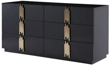 Token Dresser Black & Gold
