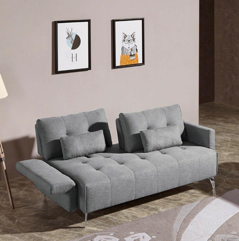 Alcoa Modern Contemporary Sofa Gray