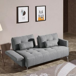 Alcoa Modern Contemporary Sofa Gray