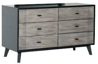 Panther Contemporary Dresser Black