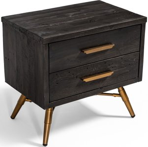 Tabitha Nightstand Dark Brown