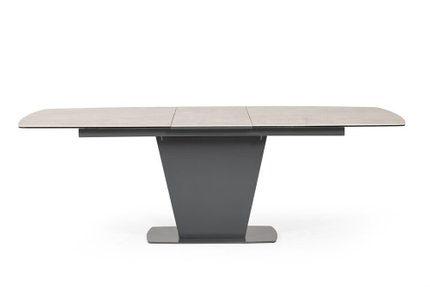 Modrest Curtis Ceramic Extendable Dining Table Gray