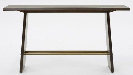 Modrest Selena Modern Console Table Brass