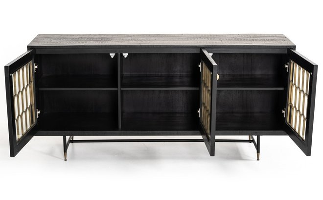 Modrest Natalie Modern Buffet Black