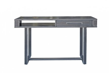 Modrest Hardy Console Table Black Acacia